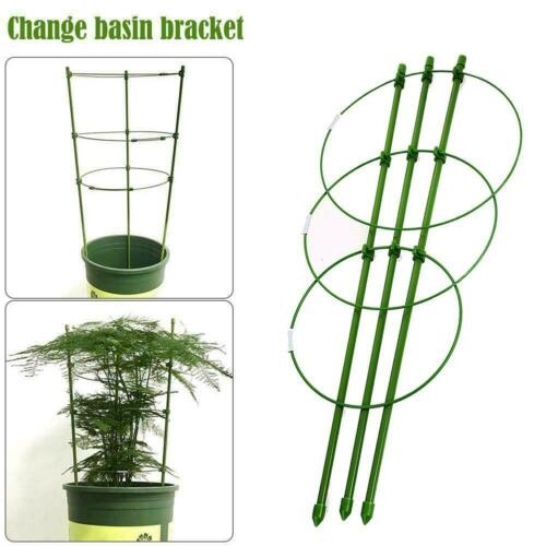 Climbing Plant Support Cage Garden Trellis Flowers Tomato Stand 3 Rings Super c