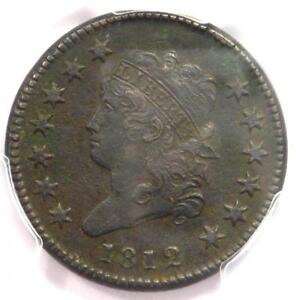 1812-Classic-Liberty-Head-Large-Cent-1C-PCGS-XF-Detail-EF-Rare-this-Sharp