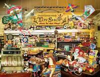 Sunsout Easy Grasp Jigsaw An Old Fashioned Toy Shop Lori Schory 1000 Pcs 34916