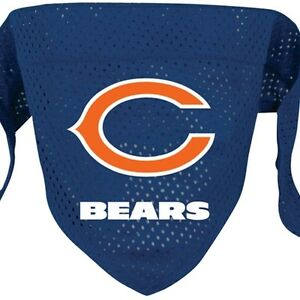 watch 4d332 e5b39 Details about Chicago Bears NFL Doggie Bandana / Pet Scarf from Hunter Pet  Gear size Small
