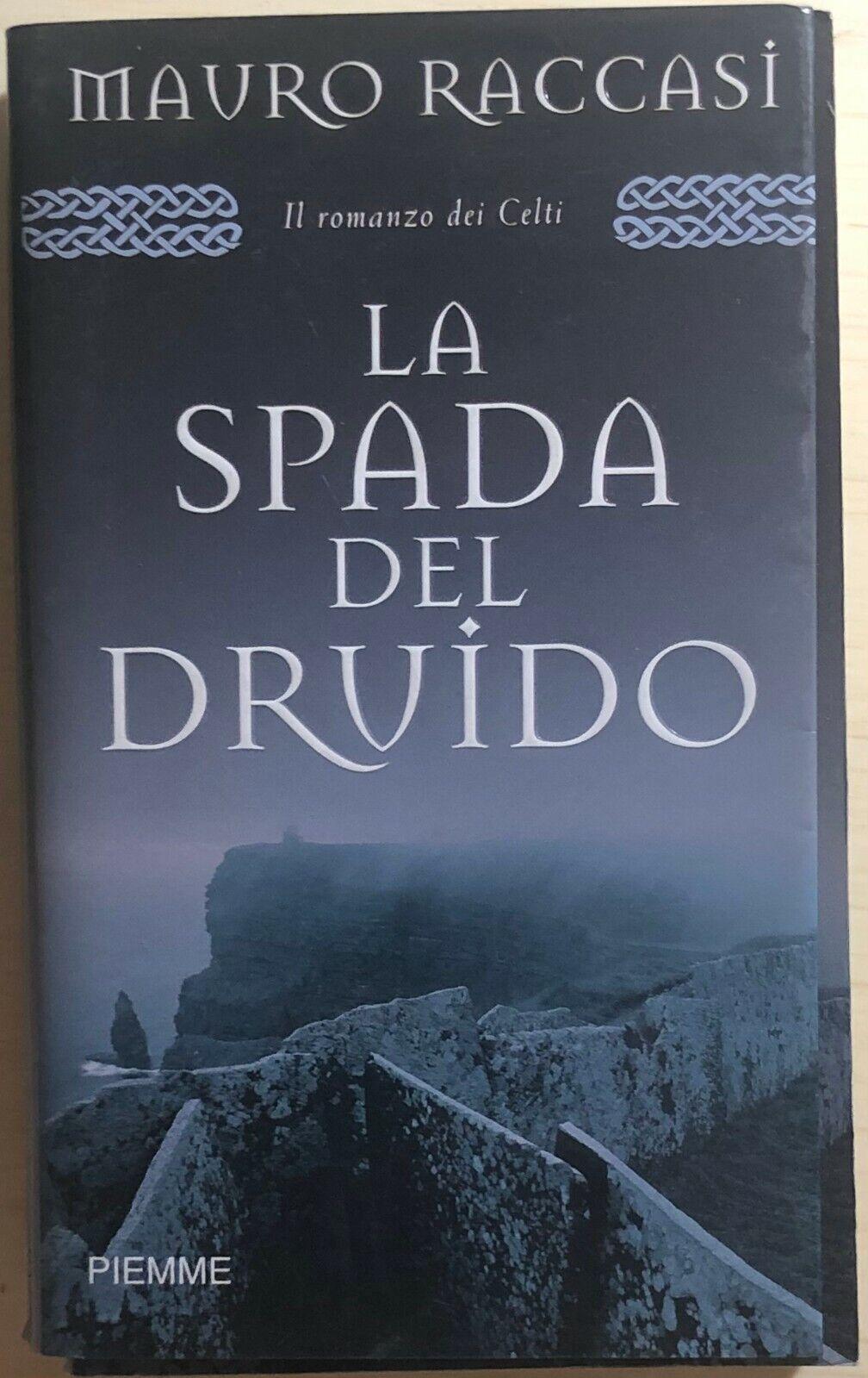 La spada del druido di Mauro Raccasi, 2005, Piemme