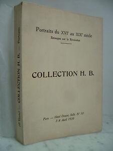 Catalogo-De-Venta-Retrato-de-La-Xvie-A-Siglo-XIX-Drouot-Impresion-Revolution