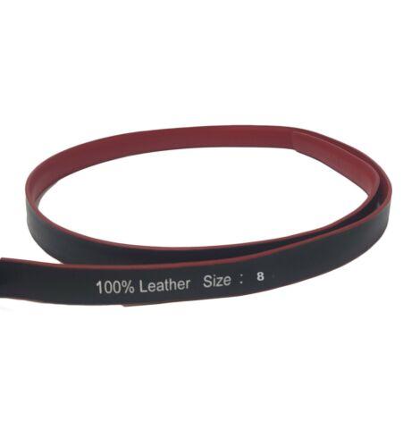 Luxury Genuine Red Leather Buckle Belt Casual Dress Womens Waistband Waist Strap