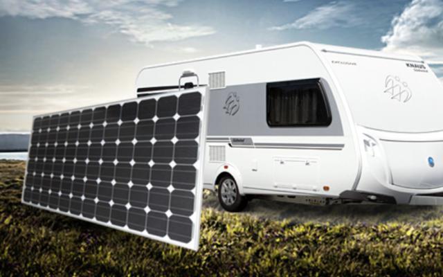 250W Solar Panel Kit 12V Mono 250 Watt Single Caravan Camping Power Charger New