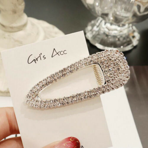 Fashion Women Pearl Barrette Hair Clip Stick Hairpin Hair Accessories Gift Multi