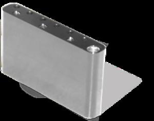 Super-Vee-Bloc-Acier-Tremolo-BladeRunner-Droitier-Righty-Carbon-Steel-Tone-Block