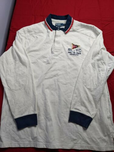 Vintage Polo Sport Ralph Lauren  Yacht Button Up R