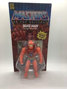 2020 MOTU MASTERS OF THE UNIVERSE Origins BEAST MAN articulated Figure Walmart