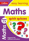 Maths Quick Quizzes Ages 7-9 (Collins Easy Learning KS2) by Collins Easy Learning (Paperback, 2017)
