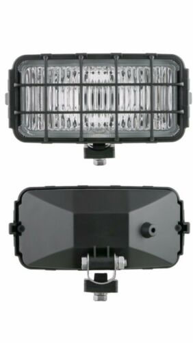 2x Nebelscheinwerfer Weiß 12V//24V H3 Halogen Nebellicht SET 2x Glühbirne H3 12V