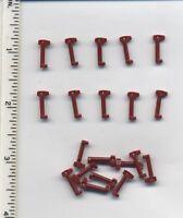 Star Wars Lego X20 Dark Red Minifig, Helmet Rangefinder For Helmet Clone Trooper