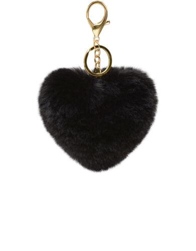 Fellbommel Anhänger für die Handtasche trendfuxx Herz Schlüsselanhänger