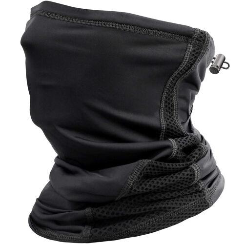 Ice Silk Face Cover Wrap Neck Gaiter Bandana Tube Balaclava Scarf With Loops Ear