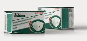 20× FFP2 LEIKANG Maske Mundschutz zertifiziert 5 lagig Atemschutz Masken
