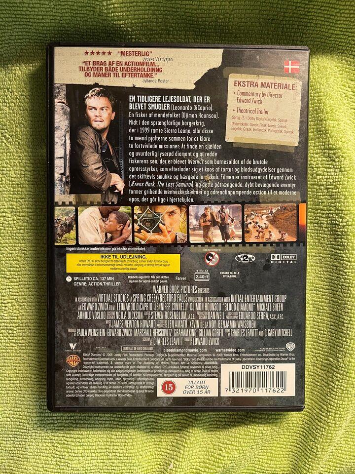 Blood diamond , DVD, drama