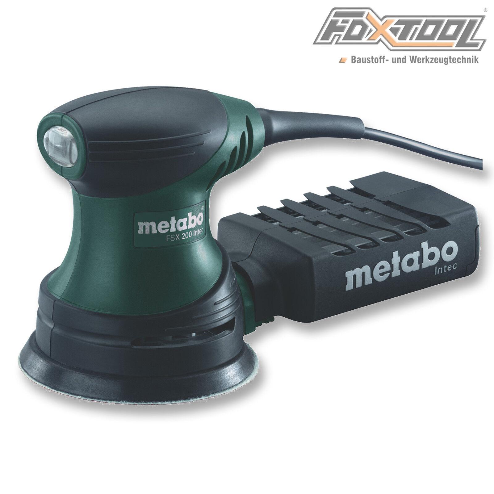 Metabo Exzenterschleifer FSX200 Intec  609225500