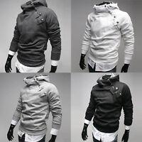 New stock Mens Slim Fit Sexy Top Designed Casual Hoody Coat Jacket S M L XL PJ