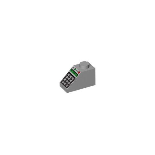 Brique Clavier  Brick Keyboard GRIS GREY 4228198-50344 Lot x2 Lego