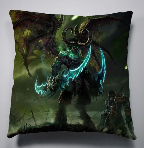 Neu WOW World of Warcraft Kissen Sofakissen Dekokissen Pillow Cushion 40x40CM A6