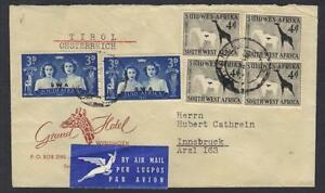 SOUTH-AFRICA-1947-GRAND-HOTEL-COVER-WINDHOEK-SW-AFRICA-TO-TIROL-AUSTRIA