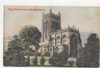 The Priory Church Malvern 1907 Postcard 360a
