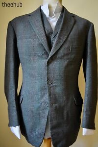 Handsome Vtg 50s 60s Check 3 Piece Suit Austin Reed Regents St Lapel W C Ebay
