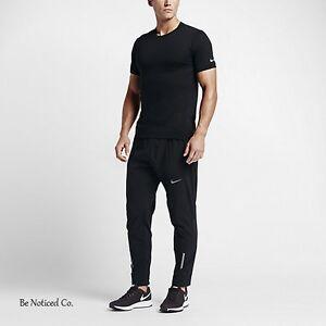 e313bee0c427b9 Caricamento dell'immagine in corso Nike-Morbide-Velocita-da-Uomo-Running -Pantaloni-Neri-