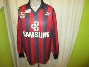 Eintracht-Frankfurt-Puma-Langarm-Vize-Meister-Trikot-1991-92-034-SAMSUNG-034-Gr-L
