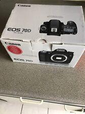 Canon EOS 70D 20.2MP DSLR Camera Body ** GREAT CONDITION **