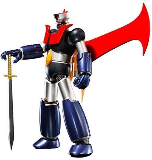 Nouveau Super Robot Chogokin Mazinger Z Kurogane Finition Figurine Articulée