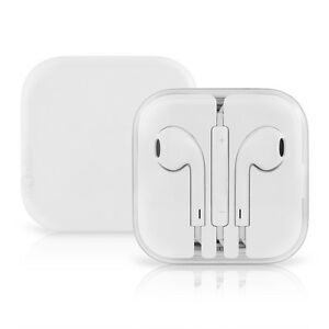 OEM Apple Earpods for iPhone 6S 6 5 5S 4S with Remote & Mic Authentic MD827LL/A