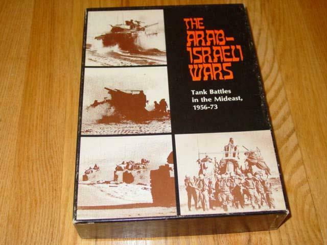 Avalon  Hill - The Arab-Israeli guerras gioco - Tank Battles Middle East (UNPUNCHED)  si affrettò a vedere