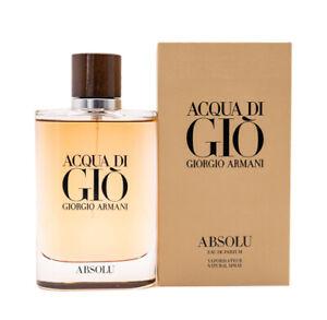Acqua Di Gio Absolu by Giorgio Armani 4.2 oz EDP Cologne for Men New In Box