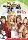 Hannah Montana Life S What You MAK V 0786936742190 DVD Region 1