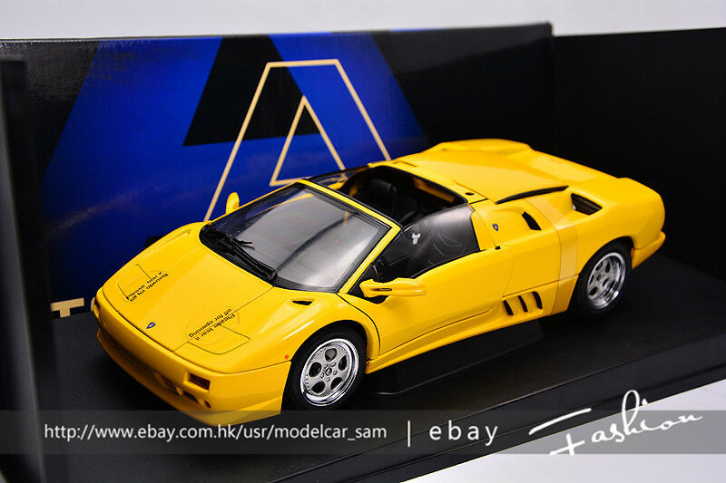 AutoArt 1 18 lamborghini DIABLO VTR Yellow