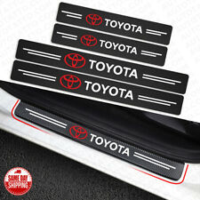 Universal Car Door Plate Sill Scuff Cover Anti Scratch Decal Sticker Protector