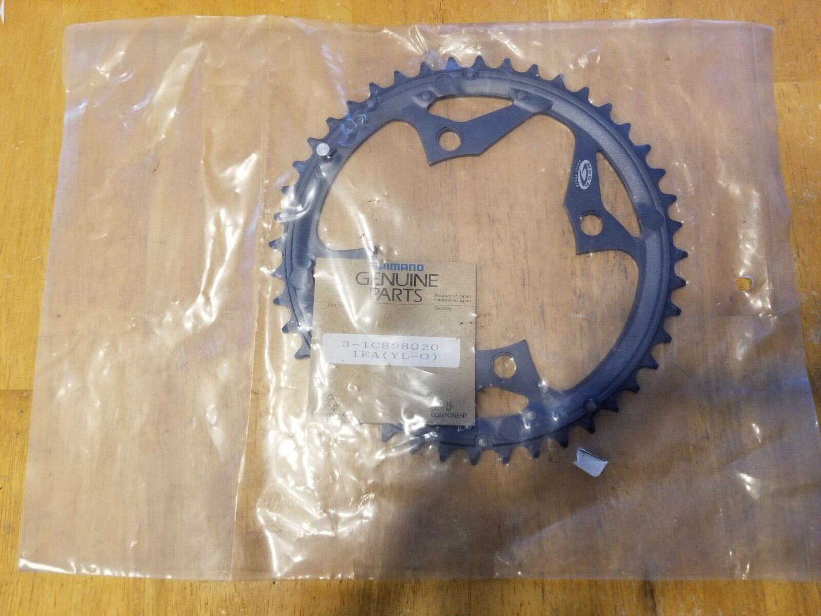 Shimano  Deore LX FC-M570 44T Mountain Bike Chainring 104 BCD - Mega 9 Speed NOS  fashion