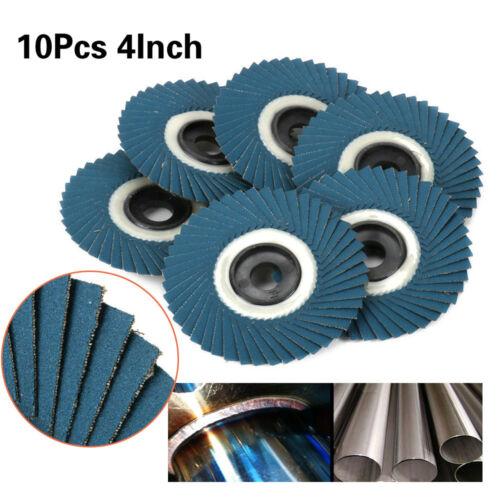 4 Inch Flap Disc Grinding Sanding Wheels For Angle Grinder 10Pcs  80//320 Grit