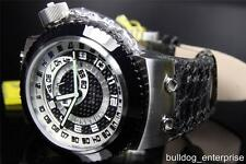 Mens Invicta Reserve Russian Diver Black GMT Interchangeable Watch New 10004