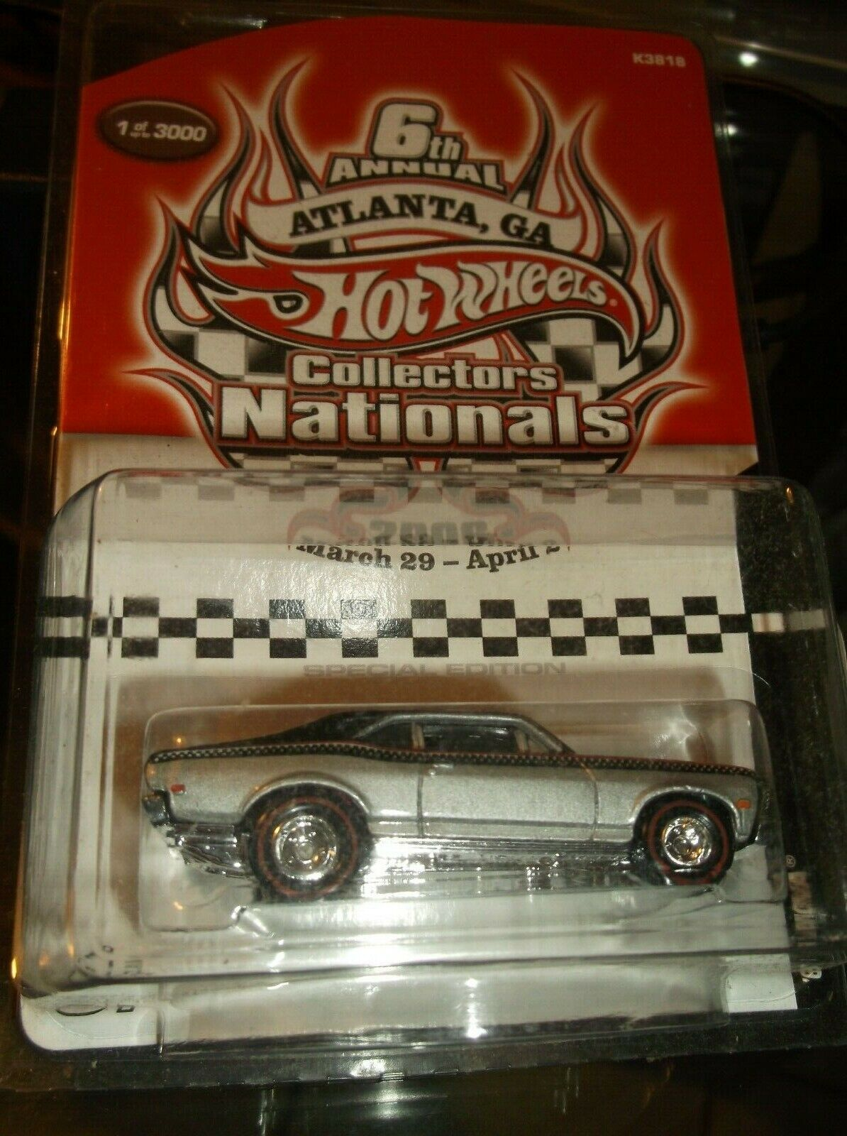 Hot Wheels 6TH Annual coleccionistas nacionales 68 Nova