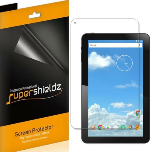 1070TPC 3X SuperShieldz Clear Screen Protector for iView SupraPad 10.1