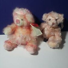 Russ Plush Bears From the Past Isabella Light Pink Spring Recital Taffie Nwt