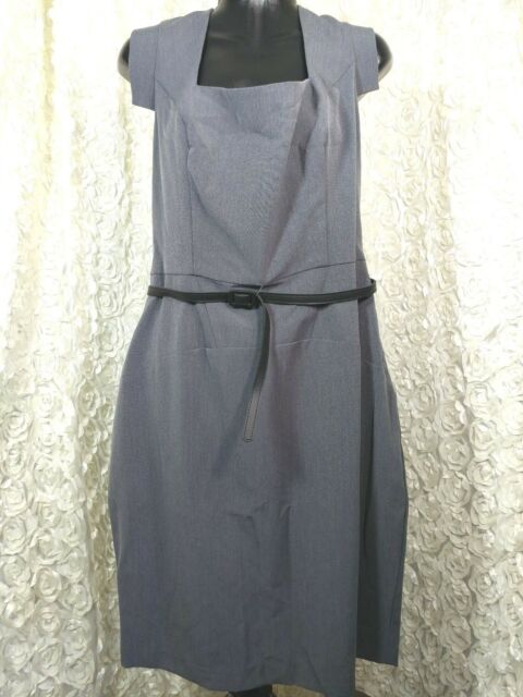 0a93229aac5cf Single Dress Women s Plus Size Veronika Sheath Dress Charcoal 1x Gray