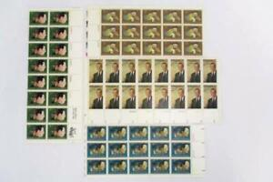 USPS-4-Sheets-62-Total-8-Cent-Stamps-Unused-MNH-Gershwin-Johnson-Tanner-Jeffers