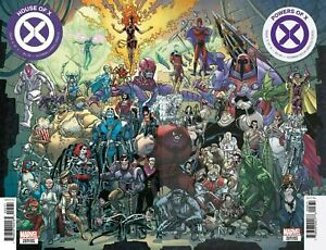 HOUSE-OF-X-6-POWERS-OF-X-6-2019-GARRON-CONNECTING-COVERS-MARVEL-COMICS-NM