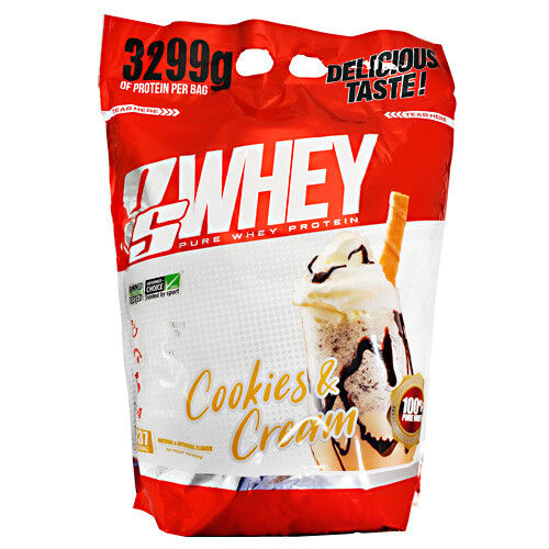 Pro Supps PS WHEY PROTEIN 10 lbs, 137 Servings BUILD MUSCLE ProSupps