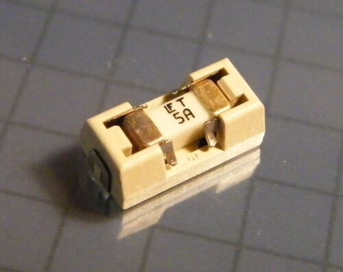 LITTLEFUSE 0154005.drt 20x SMD Fuse with Fuse Holder 5 A Slow Blow//Time-Gal