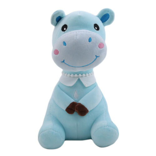 New Plush Dolls Soft Toy Stuffed Animal Lovely Cow Baby Kids Toys Gifts ONE