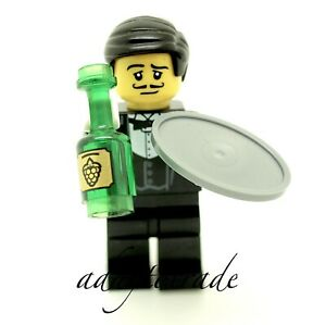 Lego-Collection-Mini-Figure-series-9-Serveur-71000-1-COL129-R1130