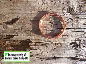 Solid-Copper-Wire-for-Jewellery-making-hobby-and-craft-work-CHOICE-OF-SIZE